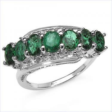 2.13CTW Emerald