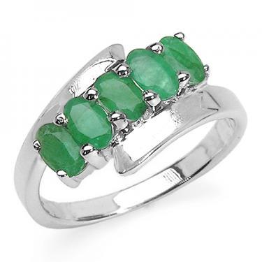 1.35 CTW Emerald