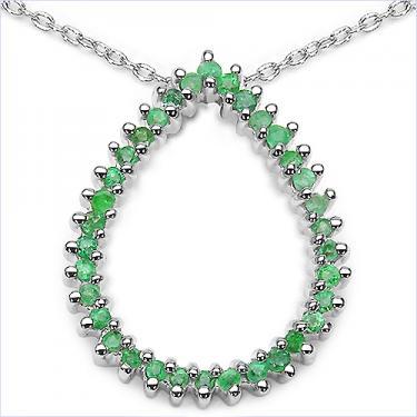 0.68 CTW Emerald