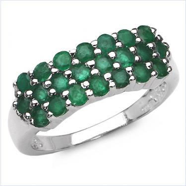 1.54 CTW Emerald