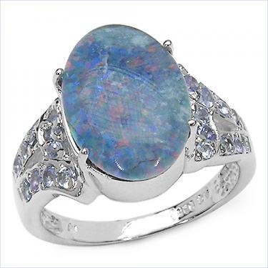 Opal & Tanzanite