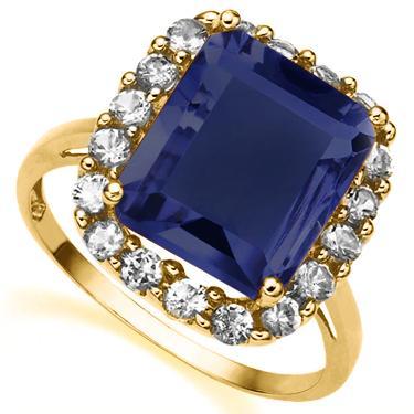 10KGold Sapphire