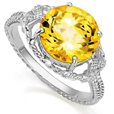 Diamonds Citrine