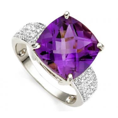 Diamond Amethyst