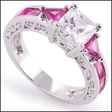4.0 CTW CZ Ring