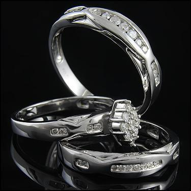 3 Ring Set 1/2CT