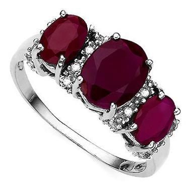 16 Diamonds Ruby