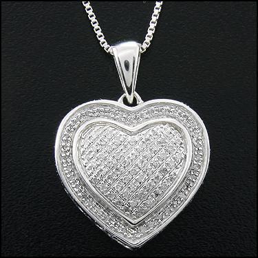 90 Diamond Heart
