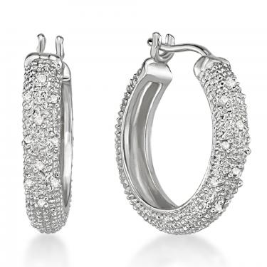 Diamonds Hoop