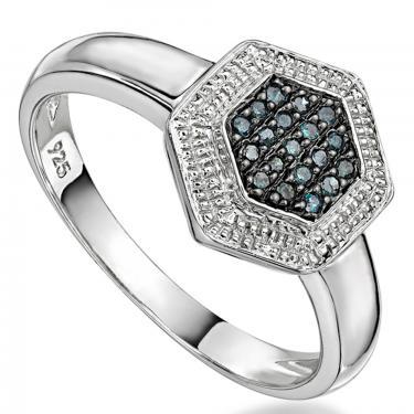 19 Blue Diamonds