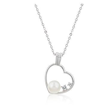 Pearl CZ Pendant