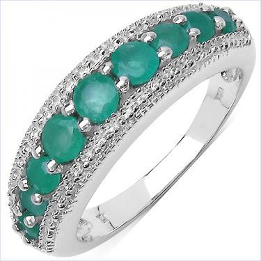 0.78CTW Emerald