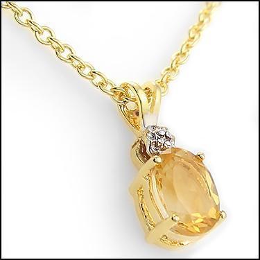 Diamonds Citrine