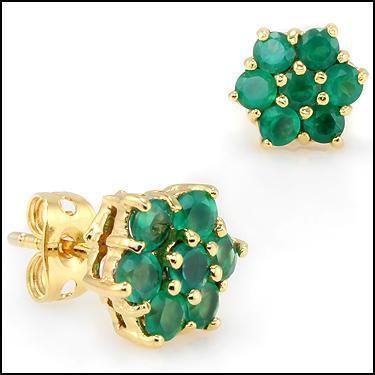 3.0 CTW Emeralds