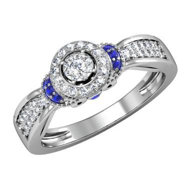 0.34ctw Diamond,