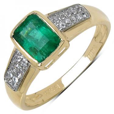 10K GOLD Emerald