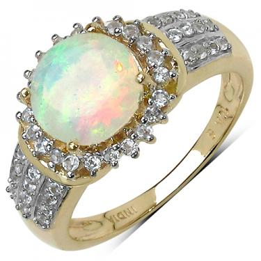 10K GOLD Opal