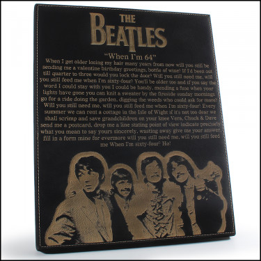 Beatles Etched