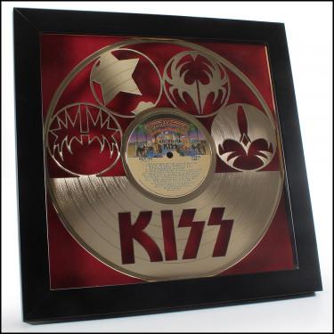 KISS Gold Vinyl