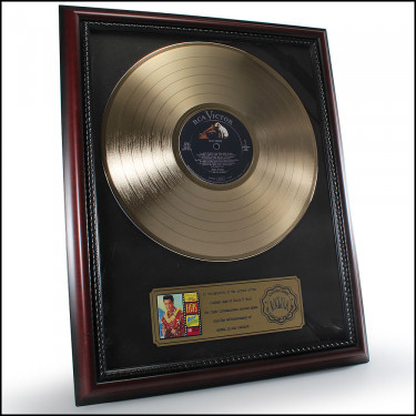 GOLD ELVIS LP