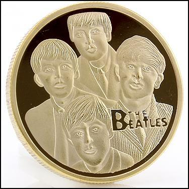 Beatles GLD Coin