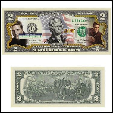 Elvis Presley $2