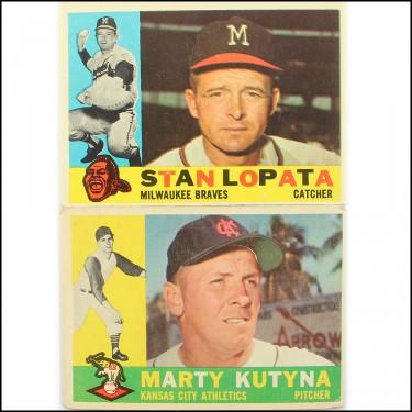 1960 Topps 2 Set