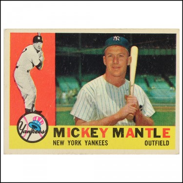 60 Topps Mantle