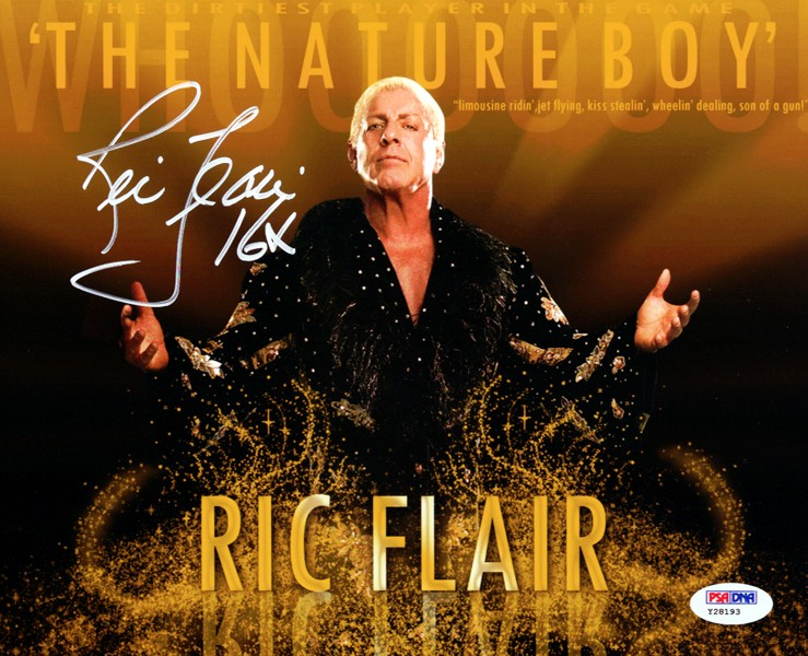 Ric Flair Signed