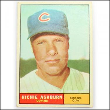 '61 Topps Ashbur