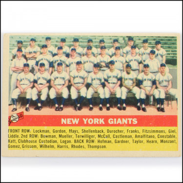 '56 Giants Team