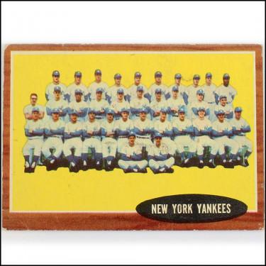 1962 YankeesTeam