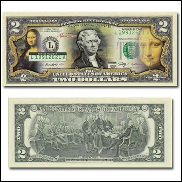 Mona Lisa $2