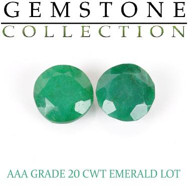 20 CWT Emeralds