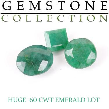 60 CWT Emeralds