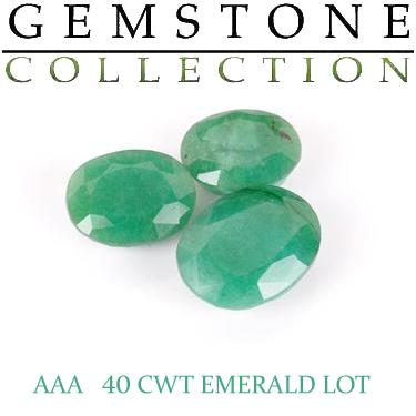 40 CWT Emeralds