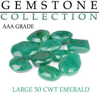 50 CWT Emeralds