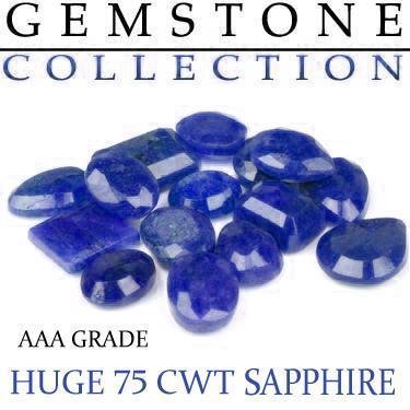 75 CWT Sapphires