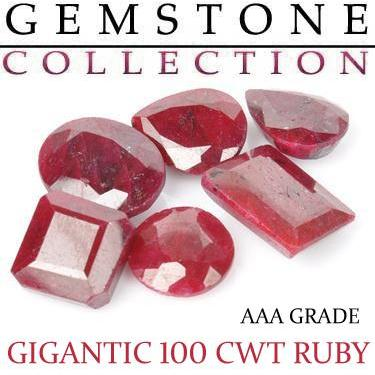 100 CWT Ruby Lot
