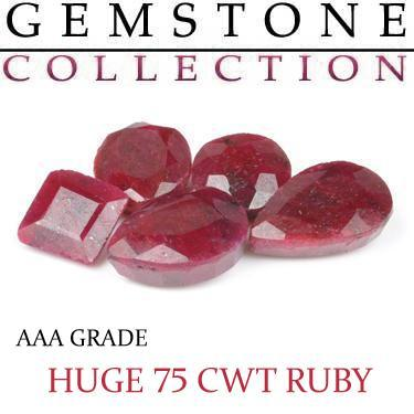 75 CWT Ruby Lot