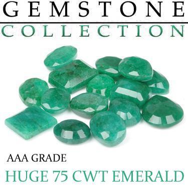 75 CWT Emeralds