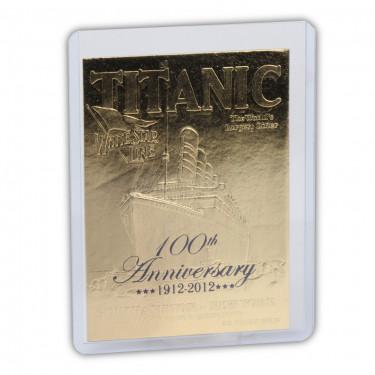 Titanic 23K Card