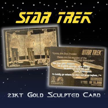 23KGLD STAR TREK