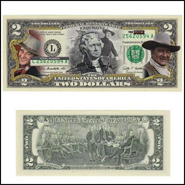 John Wayne $2