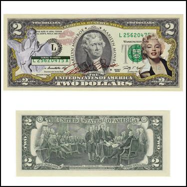 $2 MarilynMonroe