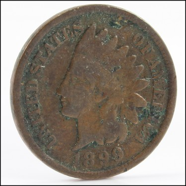 1899 Small Cents