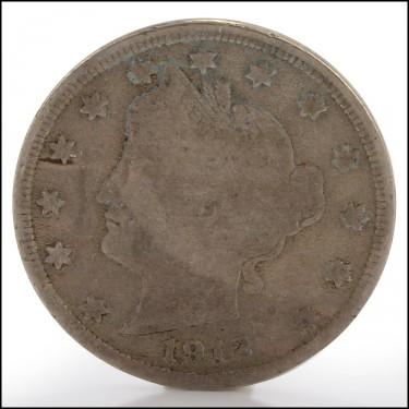 1912-D V Nickel