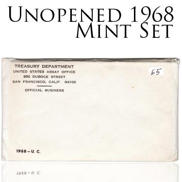 Sealed 1968 Set
