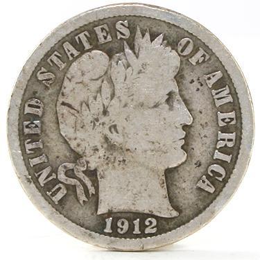 1912 Dime