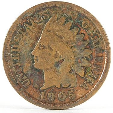 1905 Small Cents